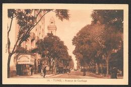 TUNIS Avenue De Carthage (Pavia Soler) Tunisie - Tunisie