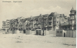 DUINBERGEN : Digue Ouest - RARE VARIANTE - Cachet De La Poste 1912 - België