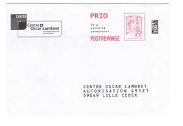 PAP Réponse Centre Oscar Lambret - Neuf - 16P163 - Prio Postréponse - Prêts-à-poster: Réponse /Ciappa-Kavena