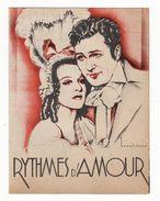 Film Des Studios PARAMOUNT    Rythmes D'amour      Cinéma - Programs