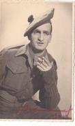 25980 Militaria Photo Militaire Guerre 1939 1945 - Scottish Soldier -Andrea La Gais - Beret Tabac - Guerre, Militaire