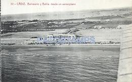 64818 SPAIN ESPAÑA CADIZ ANDALUCIA BALNEARIO Y BAHIA DESDE UN AEROPLANO POSTAL POSTCARD - Ohne Zuordnung