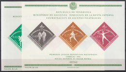 VENEZUELA 1962 HB-8/9 NUEVO - Venezuela