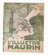 Film Des Studios GAUMONT    L'illustre Maurin      Cinéma - Programs
