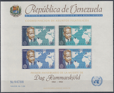 VENEZUELA 1963 HB-11 NUEVO - Venezuela