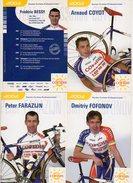 Cyclisme COFIDIS 2003 - 8 Huit Cartes - Cyclisme