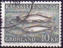 GROENLAND 1986 10kr Lodde GB-USED. - Gebraucht