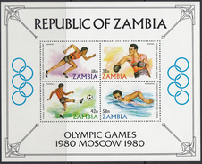ZAMBIA 1980 HB-9 NUEVO - Zambia (1965-...)