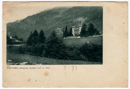 COLTURA - GRISONS - SUISSE - STAMPA - BREGAGLIA - 1937 - Vedi Retro - GR Grisons