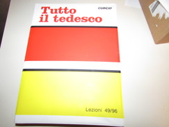 TUTTO IL TEDESCO - CURCIO - LEZIONI 49/96 - Casetes