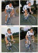 Cyclisme 2002 - équipe FDJ Francaise Des Jeux - 16 Seize Cartes Differentes - Cyclisme