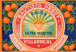 ETIQUETA DE NARANJAS DE ESPAÑA, MARCA AMANECER - Fruits & Vegetables