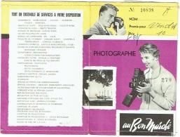 Pochette Photo. Publicité, Au Bon Marché. Photograhie. - Matériel & Accessoires