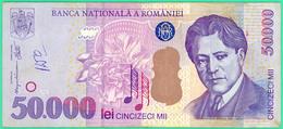 50.000 Lei - Roumanie - N°. 001B5843210 - Sup - 2000 - - Rumania