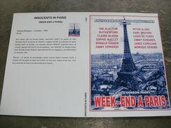 "Rare Film : "" Week End à Paris  "" - Cómedia"