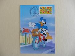 France :carte  Entier  Postal : Disneyland :Joyeux Anniversaire 12-4-1997 - Disneyland