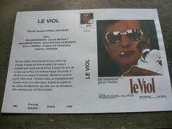 """Rare Film : """" Le Viol """" - Dramma"""