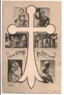 L20C047 -  Souvenir De Bretagne - Carte Multivues - ELD N°4 - People