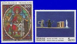 France 1985. ~ YT 2363 à 2364** - Série Oeuvres D'Art - France