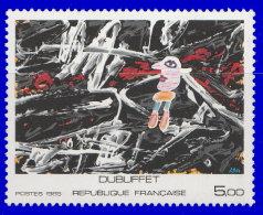 """France 1985. ~ YT 2381** - 'L'égaré"""" Oeuvre De Dubuffet - Neufs"""