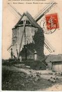 (7) CPA  Roisel  Ancien Moulin A Vent  (bon Etat) - Roisel