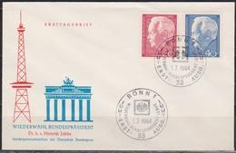 BRD FDC 1964 Nr.429/30 Bundespräsident Heinrich Lübke ( D 4370 ) - BRD
