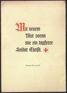 Switzerland Menzingen 1955 / Mutter Bernarda Heimgartner / Mutterhaus Der Lehrschwestern Vom Heiligen Kreuze - Cristianismo