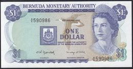 Bermudas 1 Dollar 1982 P28b UNC - Bermude