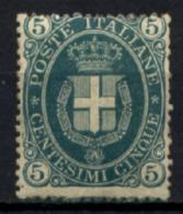 Italia Regno 1889 5c Sass.44 */MH VF/F