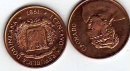 Dominican Republic 1 Centavo 1987 - Dominicaine