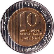 Israel - 2002 - 10 New Sheqalim - KM 270 - XF - Israel