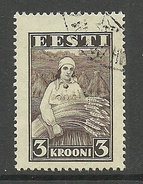 ESTLAND ESTONIA Estonie 1935 Harvesting Landarbeit Ernte Michel 108 O - Jobs