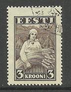 ESTLAND ESTONIA Estonie 1935 Harvesting Landarbeit Ernte Michel 108 O - Profesiones