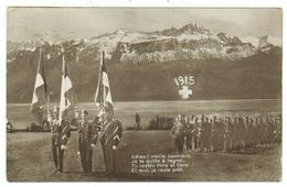 Militaire // Armée Suisse // Carte Militaire //  Guerre 1914-1918 - Weltkrieg 1914-18