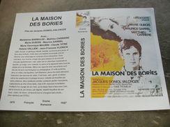 """Rare Film : """" La Maison Des Bories """" - Dramma"""