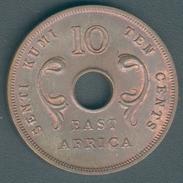 East Afrika 10 Cents 1964 (Bronze) KM#40, Vz+ - Ouganda