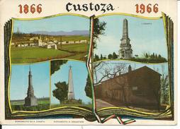 GISCA185 - CUSTOZA   - F.G. VIAGGIATA 1966 - Verona