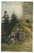 Militaire // Armée Suisse // Carte Militaire //  Manoeuvres, Infanterie Dans Les Alpes - Weltkrieg 1914-18