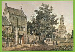SAINT-VIGOR-LE-GRAND - Monastère Lithographie De MAUGENDRE 1862 - Frankrijk