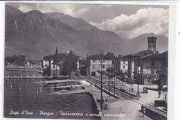 CARD PISOGNE  LAGO D'ISEO IMBARCADERO   (BRESCIA)-FG-V-2- -0882-26698 - Brescia