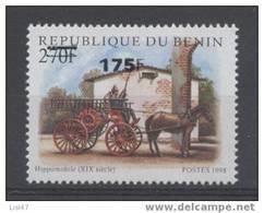 POMPIER Bénin Surcharge De 2005/06 1384 Cote 60euro RARE - FIREMAN FEUERWEHR ** MNH - Bombero