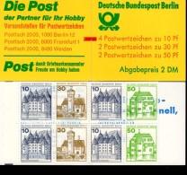 Markenheftchen 11 M Mit Zählbalken Berlin Postfrisch ** MNH - Markenheftchen