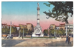 13 MARSEILLE - Place Castellane, Fontaine Cantini, Colorisée, Animée - Castellane, Prado, Menpenti, Rouet