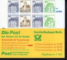 Markenheftchen 11 H Mit Zählbalken Berlin Postfrisch ** MNH - Markenheftchen