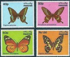 PAKISTAN 1983 Butterflies MNH