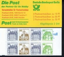 Markenheftchen 11 P Berlin Postfrisch ** MNH - Markenheftchen