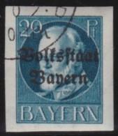 Bayern   .    Michel   .     121  II B     .           O      .       Gebraucht  .   /   .  Cancelled - Bayern