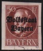 Bayern   .    Michel   .     125  II B     .           O      .       Gebraucht  .   /   .  Cancelled - Bayern