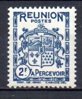3/ Reunion Taxe N° 24  Neuf XX MNH Cote : 1,50 €    (Album 11) - Postage Due