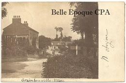 76 - GRAIMBOUVILLE - Village +++++ 1903 +++++ CARTE-PHOTO - France